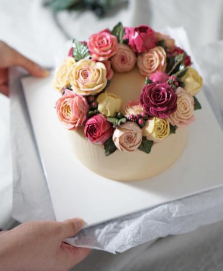 Estas Flores Huelen Que Alimentan Y Saben Mejor Aun Pasteles - Fotos-de-pasteles-decorados