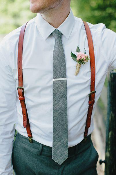 Corbata ideal para bodas. Foto: Emily Weis