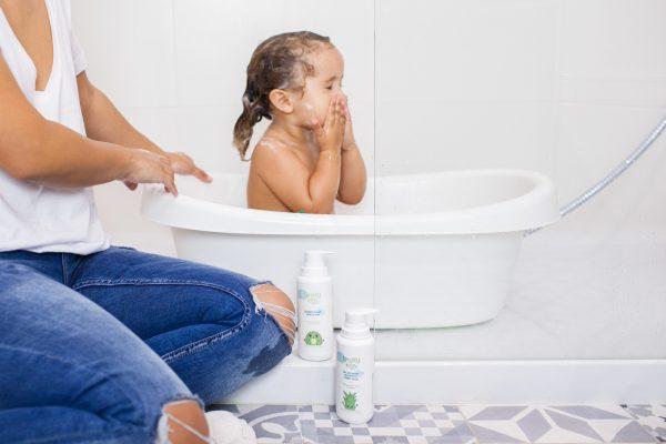 Gel de baño sin sulfatos para niños