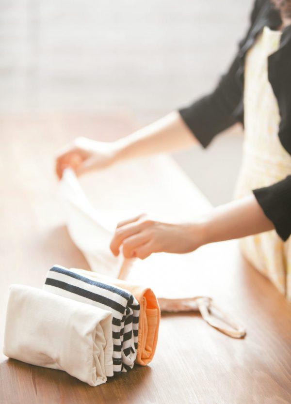 Doblar ropa como Marie Kondo