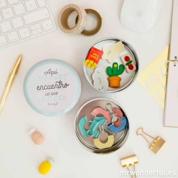 Productos de Mr. Wonderful para guardar cosas