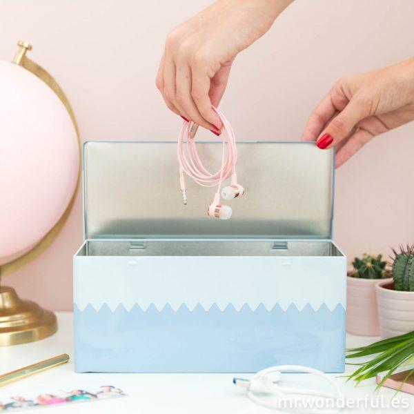 Caja para cables para decoración de hogar