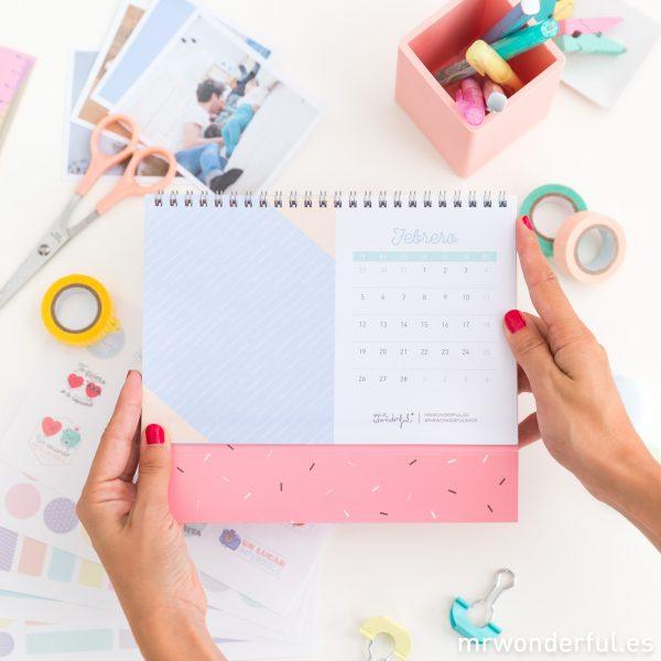 calendario de scrapbooking