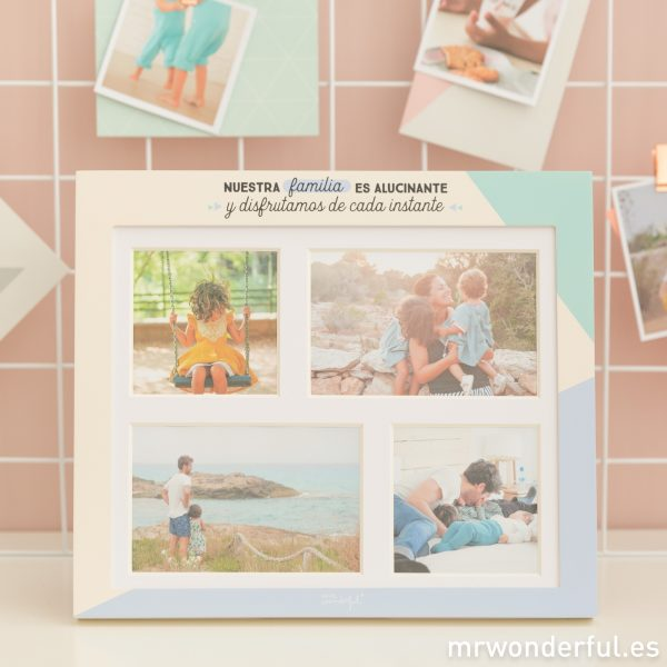 Marco de fotos familiar de Mr. Wonderful