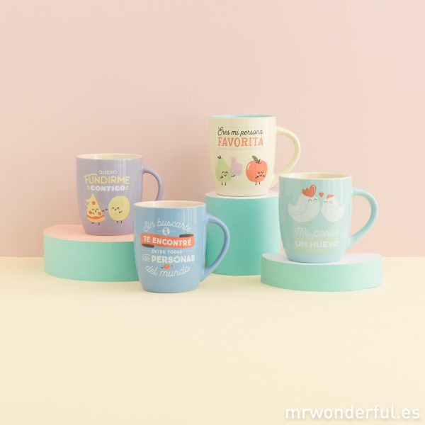 Tazas originales de Mr. wonderful