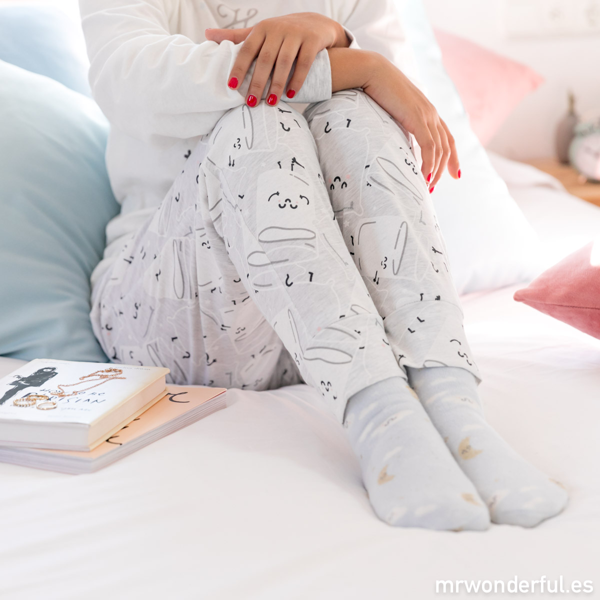 pijamas mr wonderful oysho