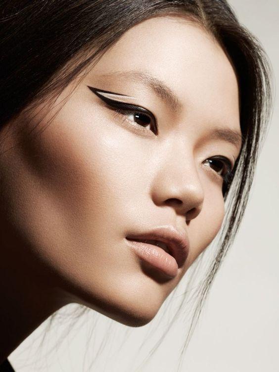 maquillaje cateye