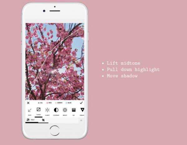 Captura de pantalla de la app A Color Story