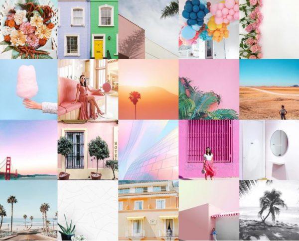 Captura de pantalla de fotos hechas con Instasize, app de edición de fotos