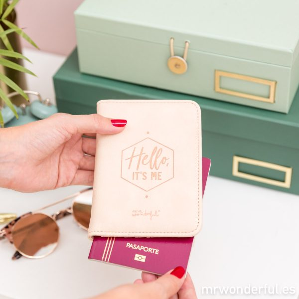 Funda de pasaporte Copper Collection