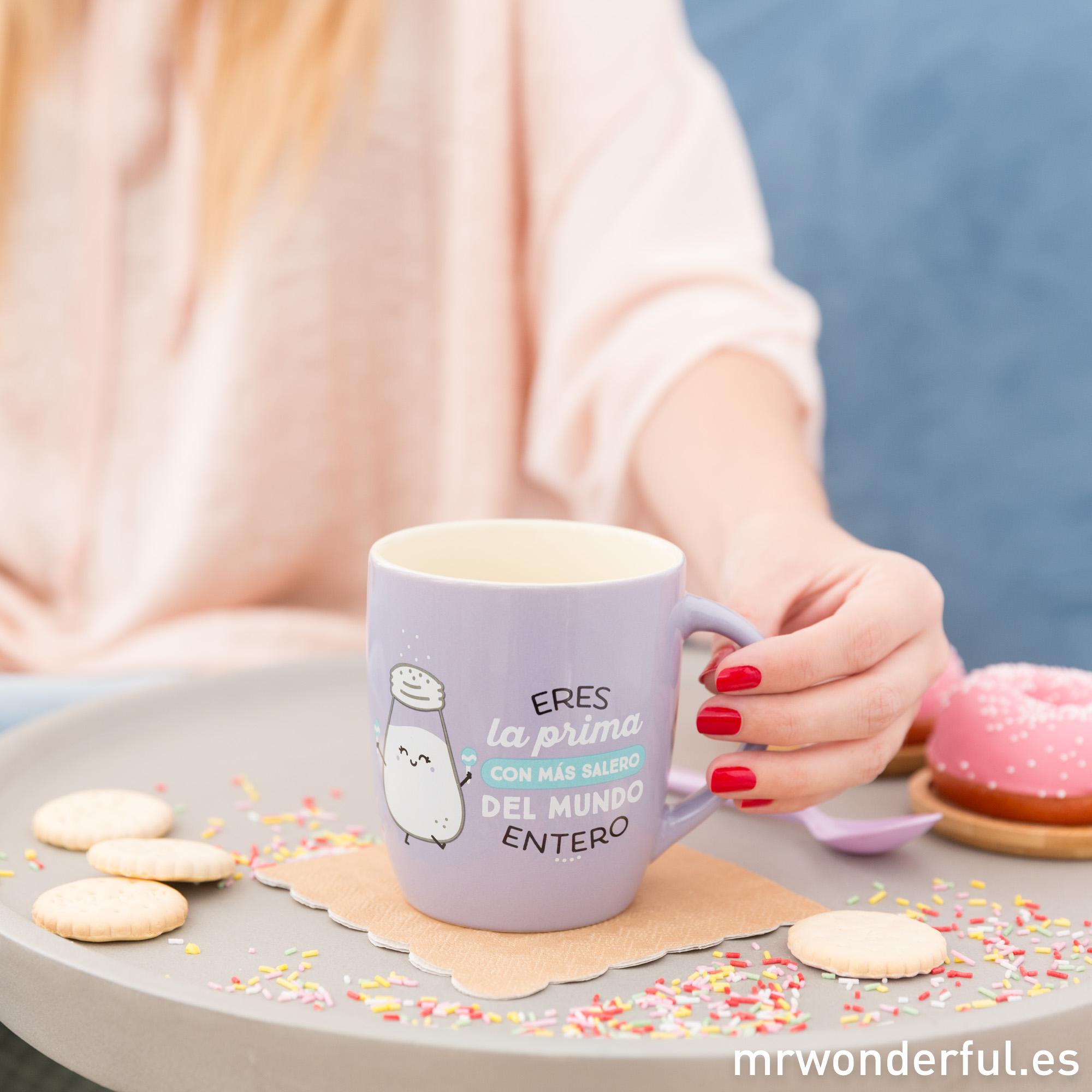 tazas de desayuno para primas