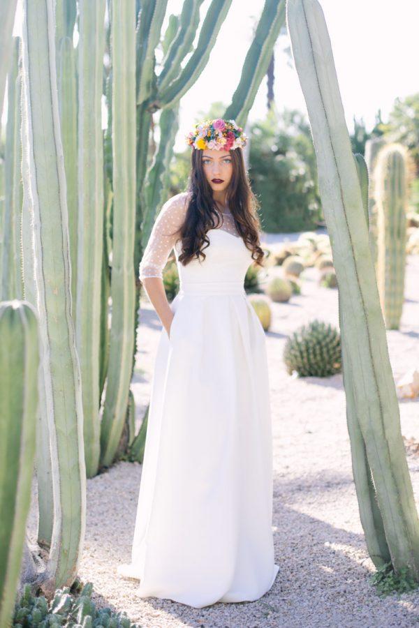 Vestido de novia de Paola Carolina