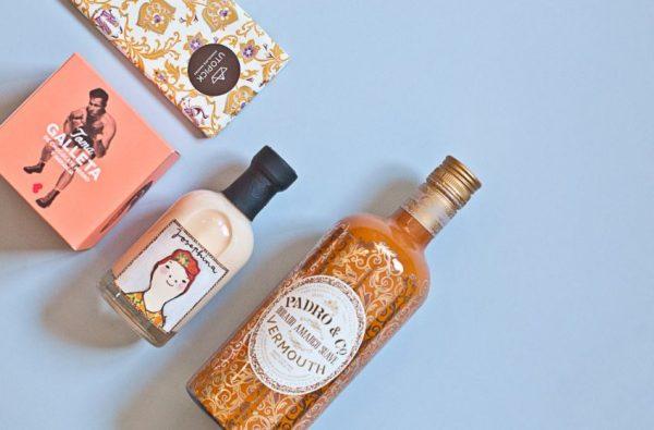 Vermut, chocolate y llicor en cajas gourmet de Señoroso