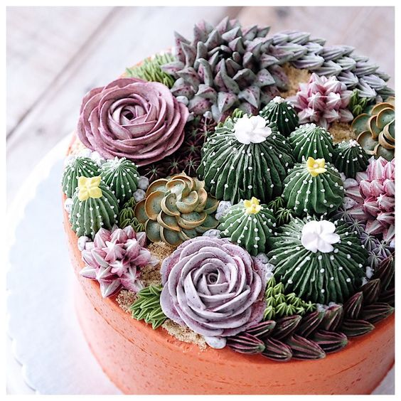 Estas flores huelen que alimentan y saben… ¡mejor aún! Pasteles decorados o Flower cakes, yeah!