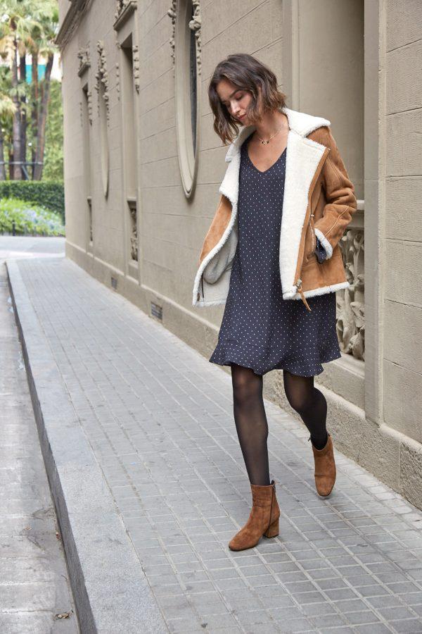 vestido y chaqueta de eseoese