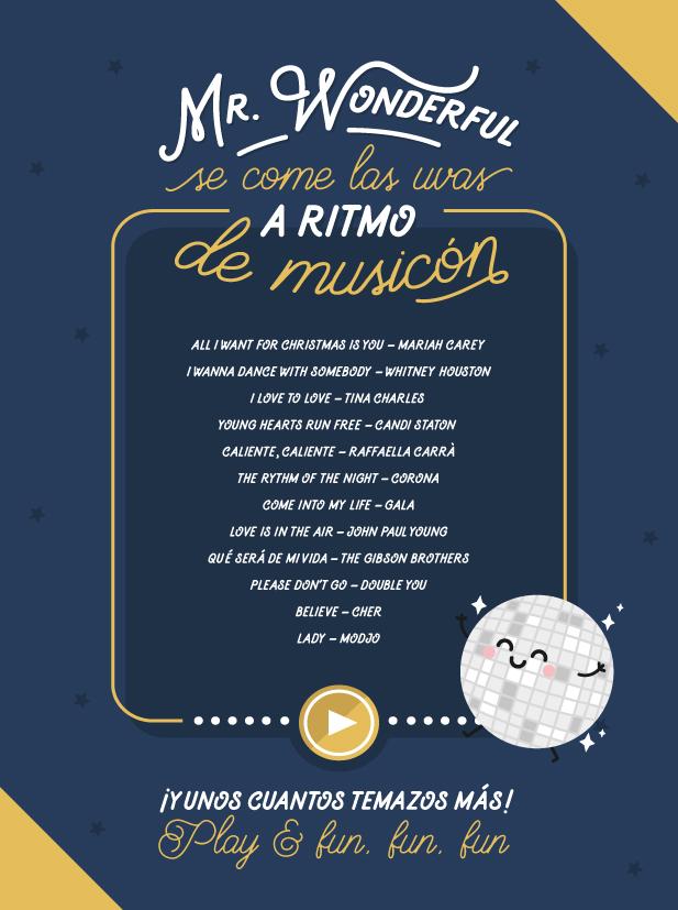 Lista de música para Nochevieja