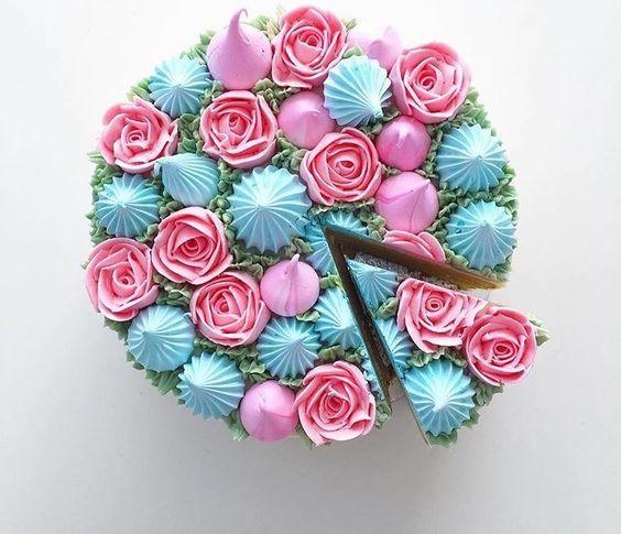 arte florar pastelería
