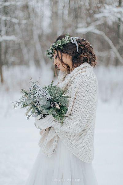 Ramos de novia de invierno