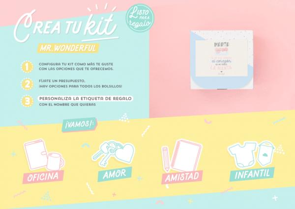 ¡Nuevos Kits personalizados Mr. Wonderful. Ahora sí que sí…¡Kit, te necesito!