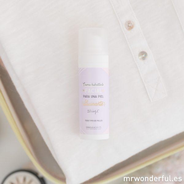Crema hidratante para una piel alucinante Mr. Wonderful