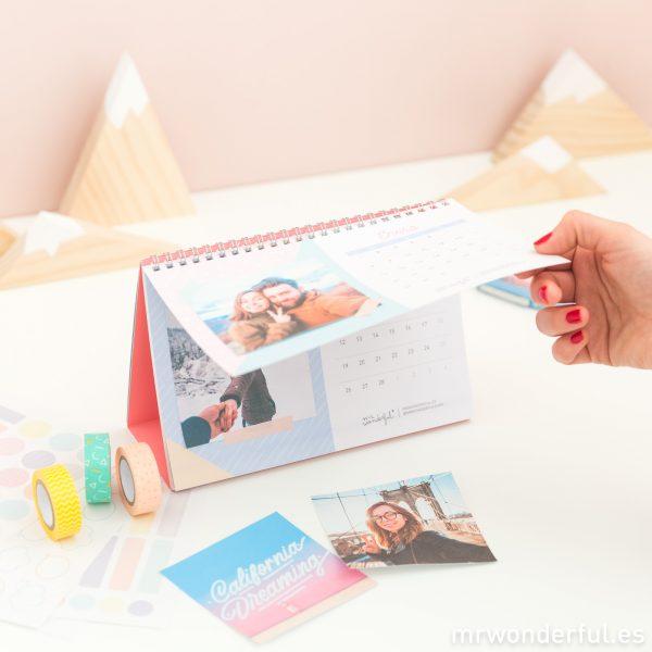 Ideazas de lo más originales para que saques el máximo partido a tu calendario scrap Mr. Wonderful