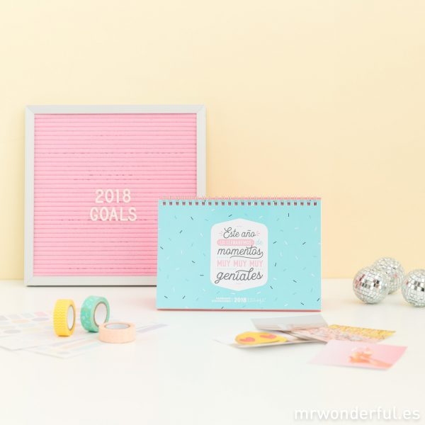 calendarios Mr. Wonderful personalizables