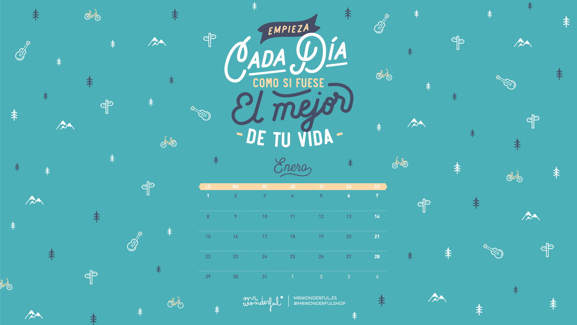 Fondos De Pantalla Descargables Mr Wonderful 2018