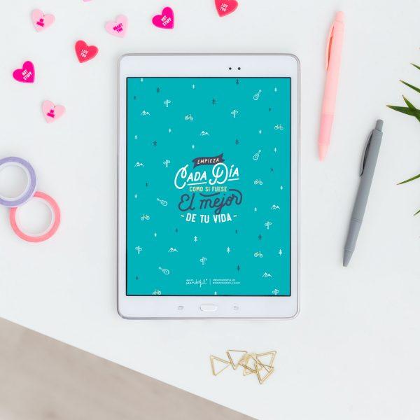 Fondo de pantalla gratis de enero para la Tablet