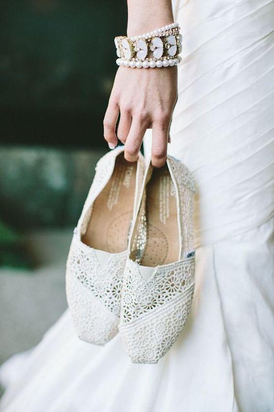 Alpargatas para bodas.