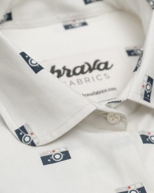 Blusa estampada de Brava Fabrics