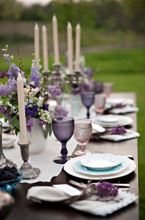 Tendencia ultraviolet en las bodas
