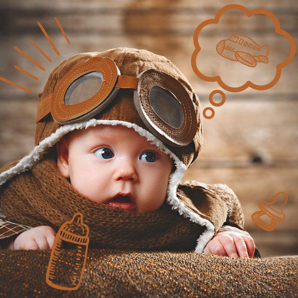 fotos mes a mes del bebé