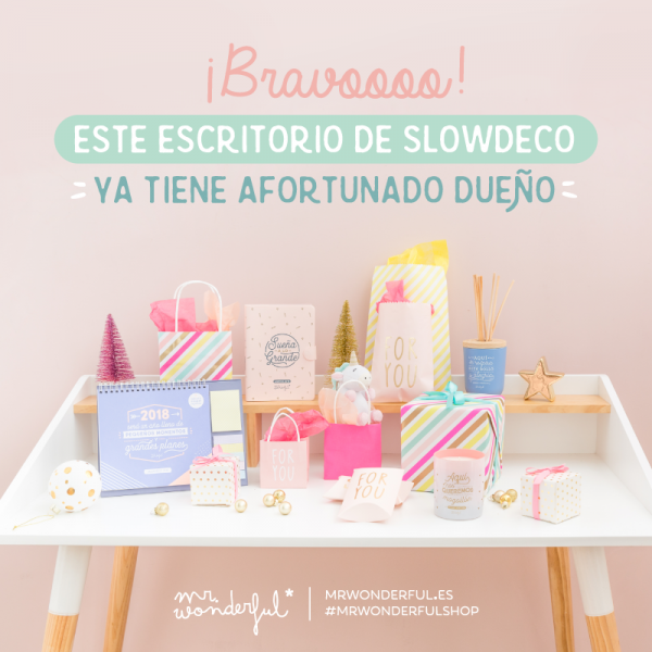 concurso navidad mr wonderful