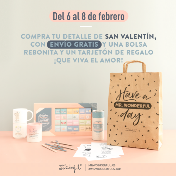 San Valentín Mr. Wonderful