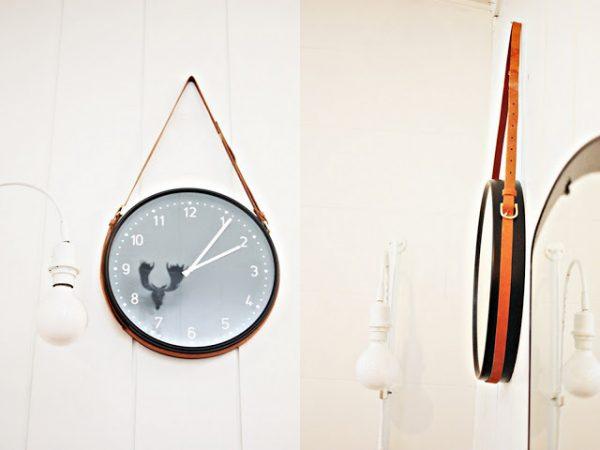 ideas para decorar con cinturones