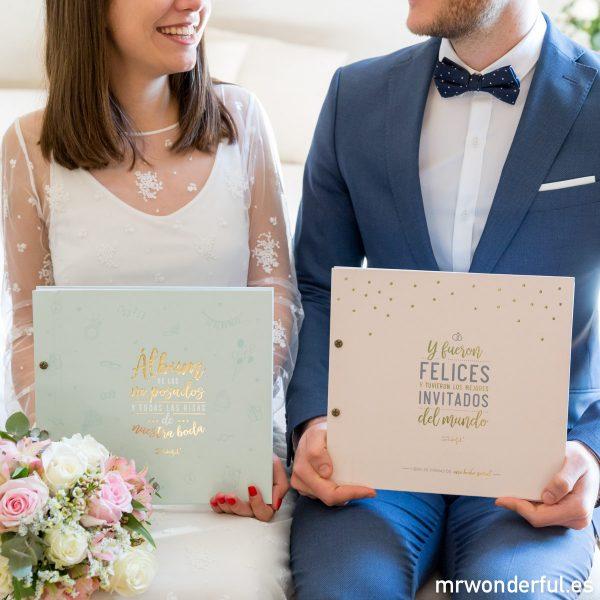 Álbums de boda Mr.Wonderful