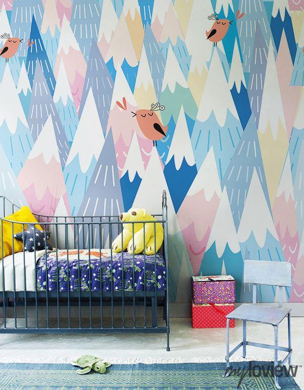 Murales de colores para peques