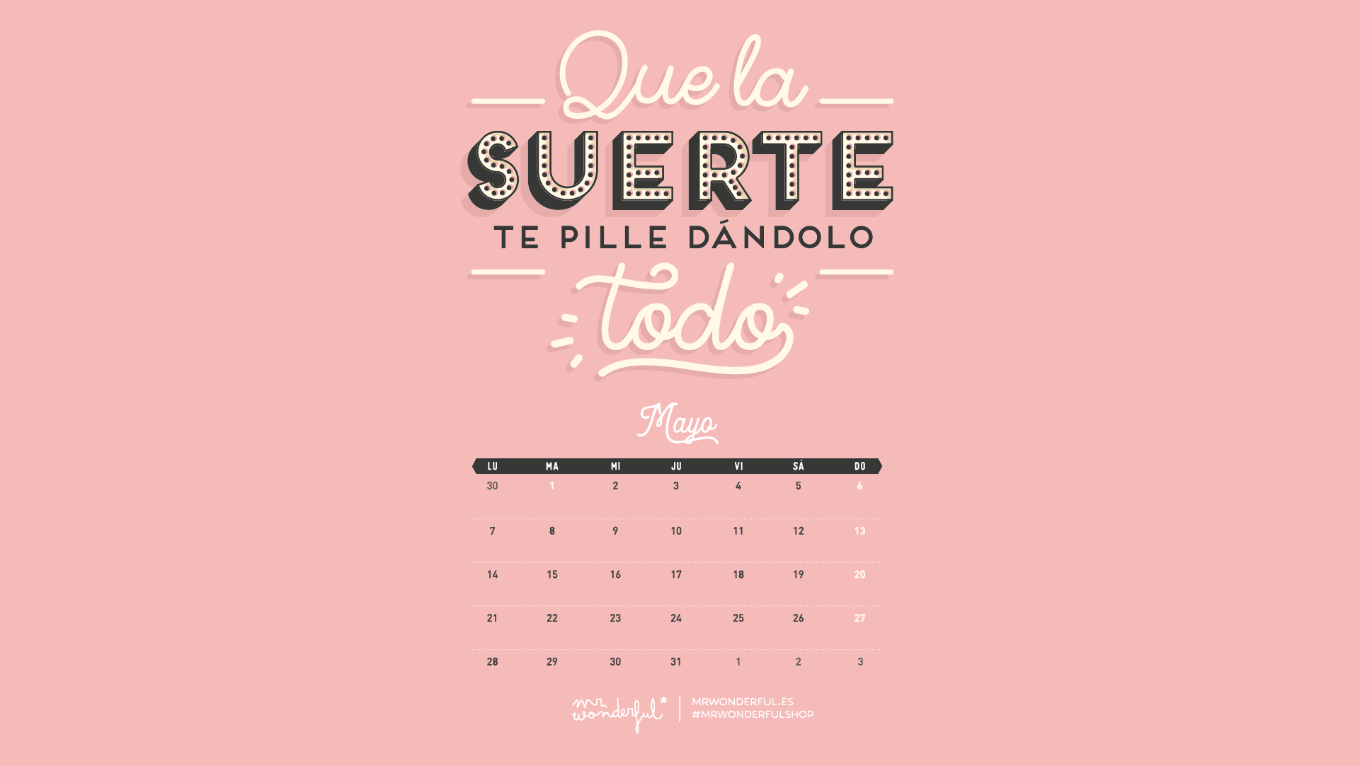 Fondos de pantalla descargables mr wonderful 2018 onlyness for Fondo de pantalla wonderful