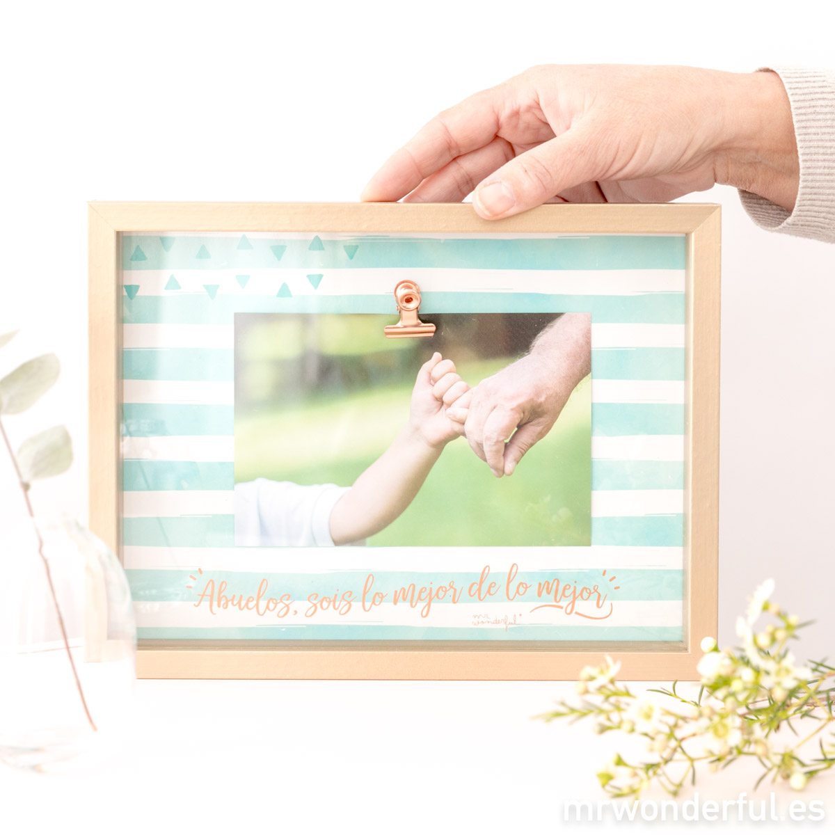 Marco de fotos para abuelos, un detalle genial para regalar el Día de los Abuelos