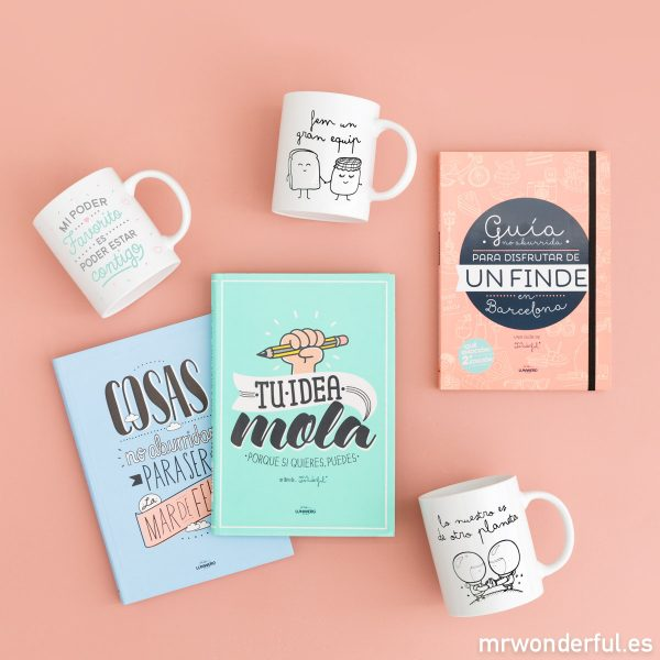 Regalos Mr. Wonderful para Sant Jordi