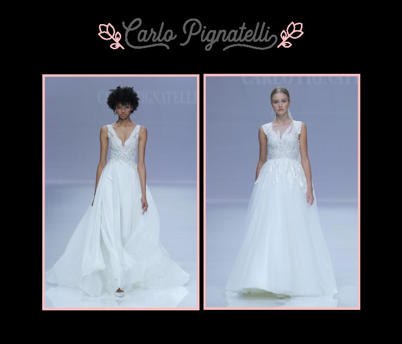 Vestidos de Carlo Pignatelli