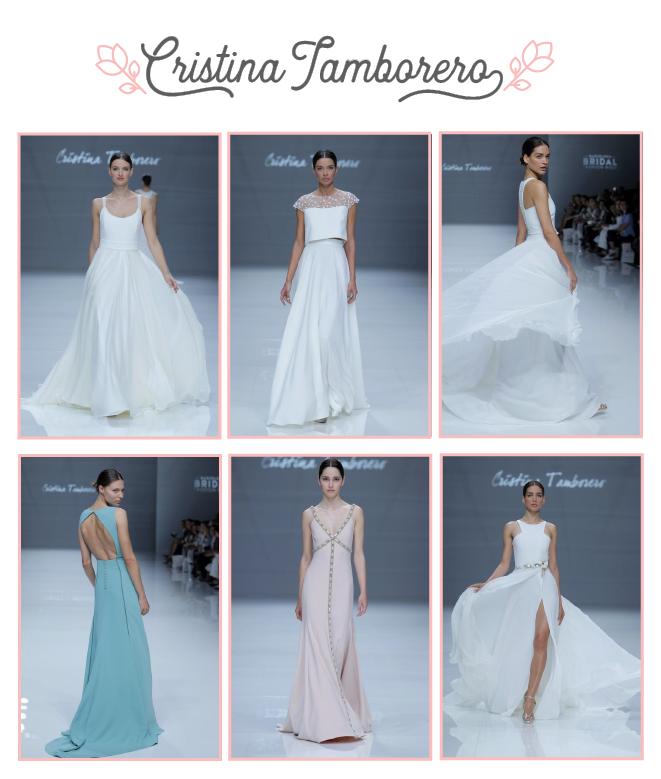 Vestidos de novia de Cristina Tamborero