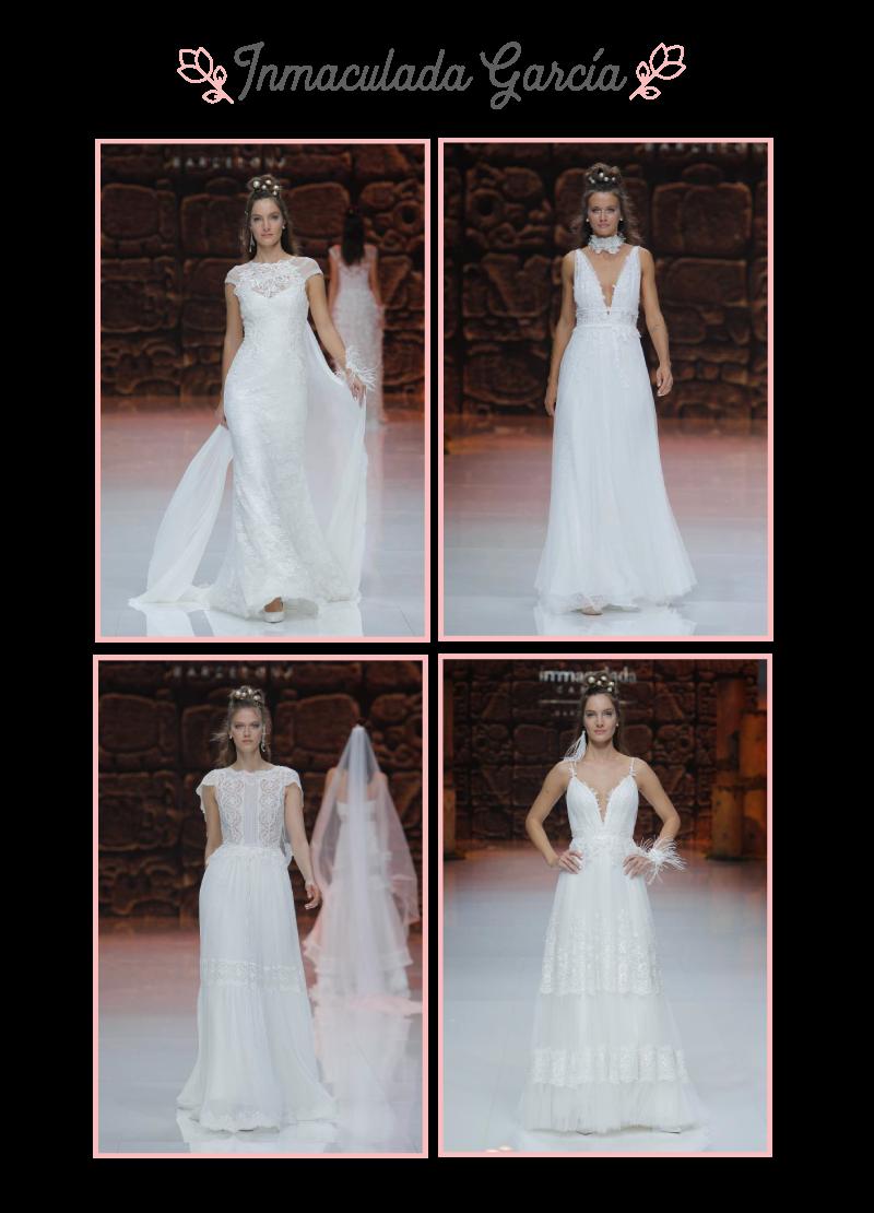 Inmaculada garcía vestidos de novia