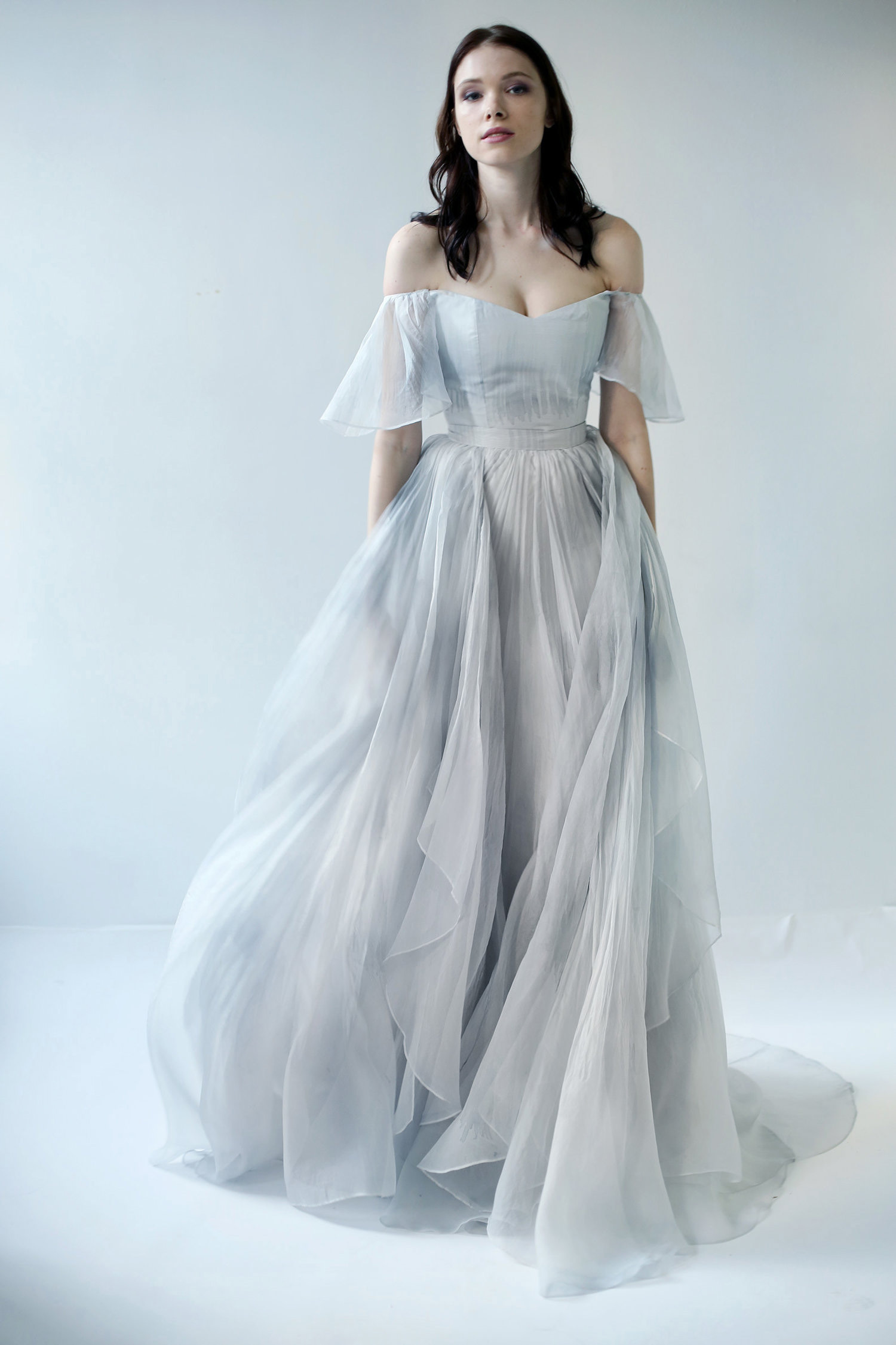 Dorable Vestida De Novia Frieze - All Wedding Dresses ...