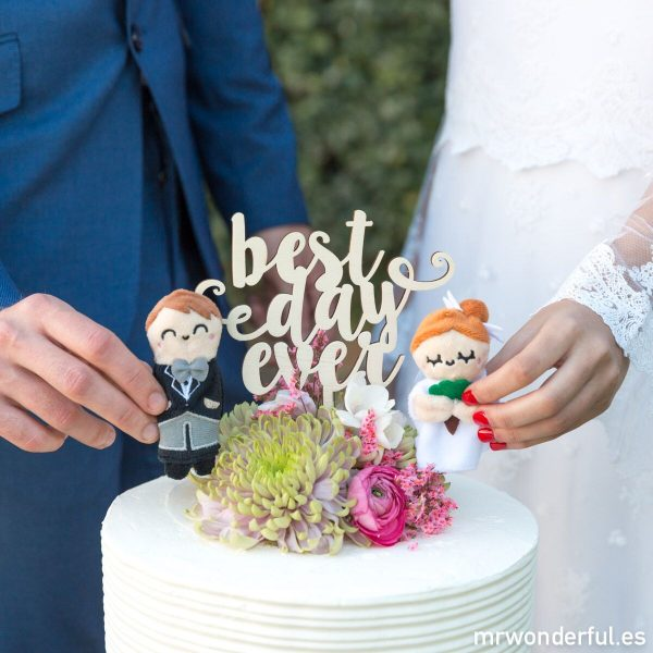 Topper para bodas de la vint-i-dos