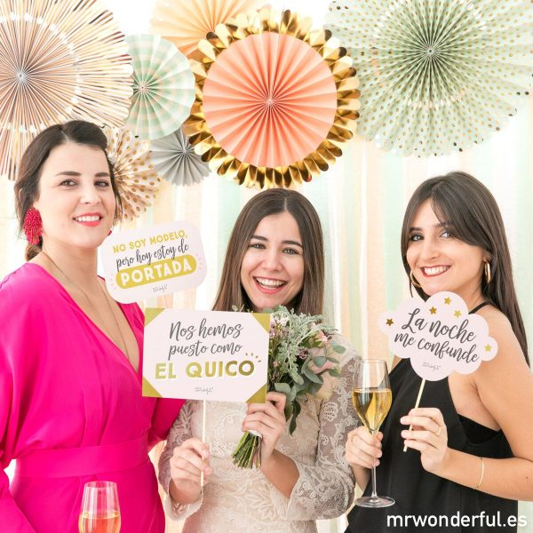 Photobooth Mr. Wonderful por La Fiesta de Olivia
