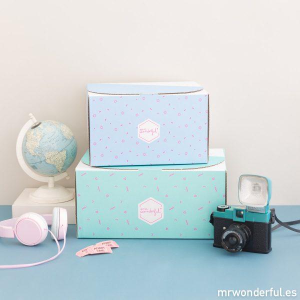 Kit personalizado para viaje Mr. Wonderful