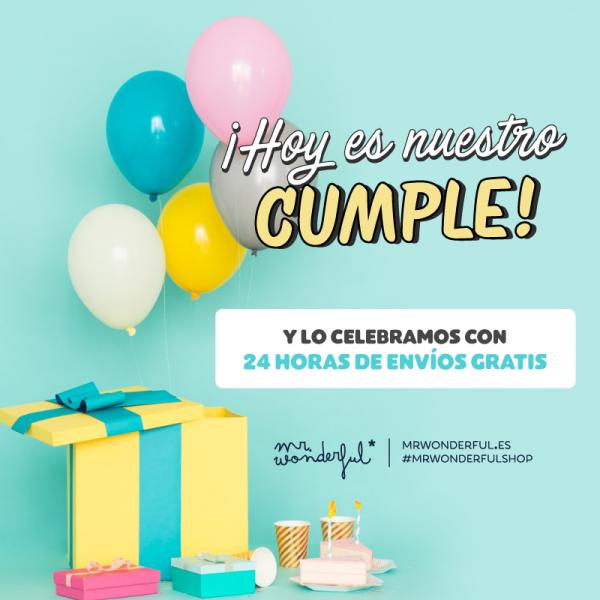 regalos mr wonderful cumpleaños