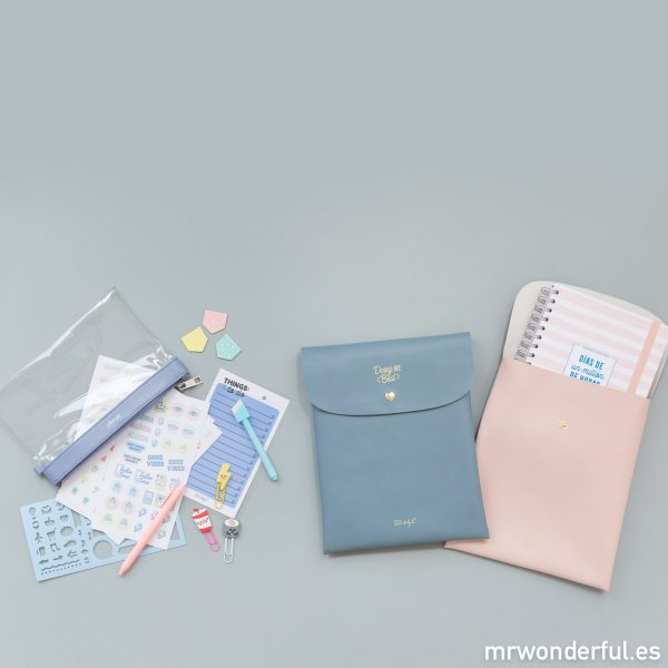 agenda escolar mr wonderful