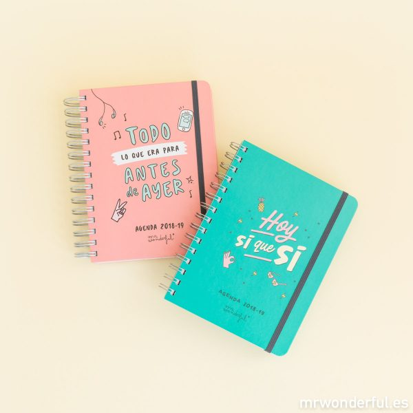 agenda escolar mr wonderful